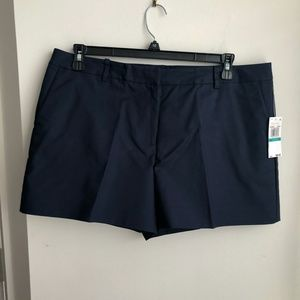 Michael Kors Navy Shorts-Size 16